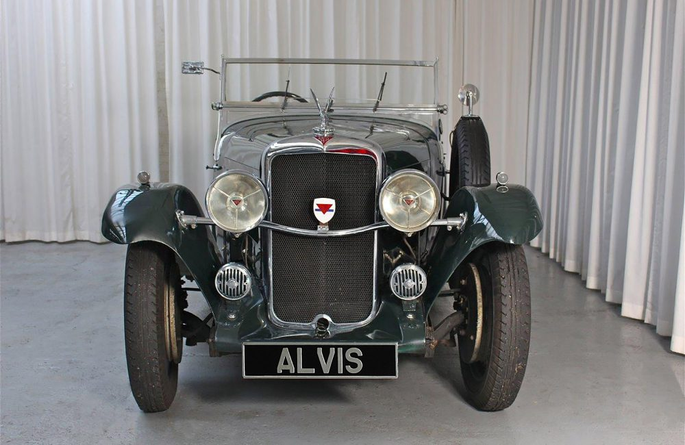 1935 Silver Eagle Tourer by Cross & Ellis - Red Triangle