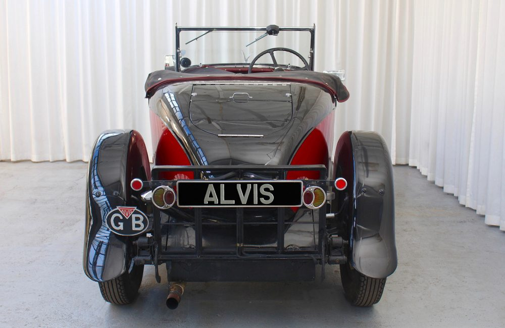 1931 Silver Eagle Beetleback - Red Triangle - Alvis Parts